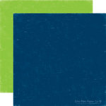 Echo Park - Little Boy Collection - 12 x 12 Double Sided Paper - Denim and Lizard