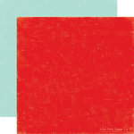 Echo Park - Little Boy Collection - 12 x 12 Double Sided Paper - Strawberry and Sky