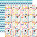 Echo Park - Let's Be Mermaids Collection - 12 x 12 Double Sided Paper - Ocean Adventure