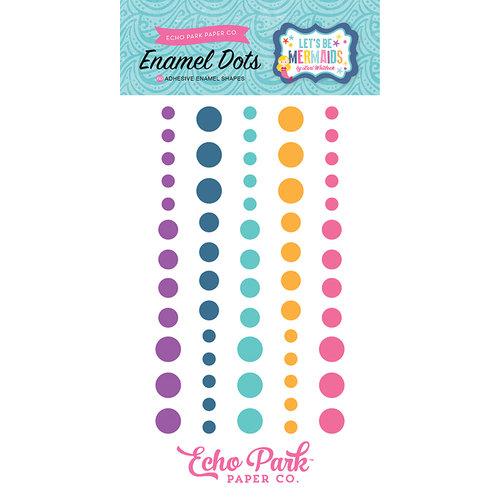 Echo Park - Let's Be Mermaids Collection - Enamel Dots