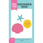 Echo Park - Let's Be Mermaids Collection - Designer Dies - Seashells 2