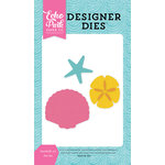 Echo Park - Let's Be Mermaids Collection - Designer Dies - Seashells 2