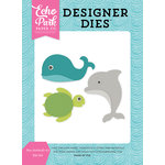 Echo Park - Let's Be Mermaids Collection - Designer Dies - Sea Animals 3