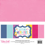 Echo Park - Lets Be Mermaids Collection - 12 x 12 Paper Pack - Solids