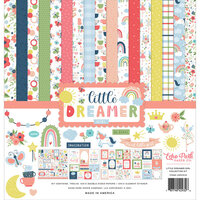 Echo Park - Little Dreamer Girl Collection - 12 x 12 Collection Kit
