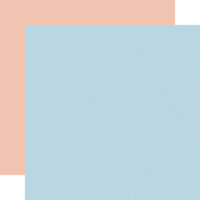 Echo Park - Little Dreamer Girl Collection - 12 x 12 Double Sided Paper - Light Blue