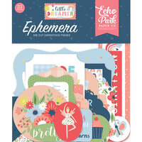 Echo Park - Little Dreamer Girl Collection - Ephemera