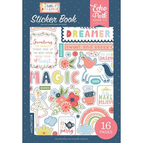 Echo Park - Little Dreamer Girl Collection - Cardstock Sticker Book