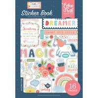 Echo Park - Little Dreamer Girl Collection - Cardstock Sticker Book