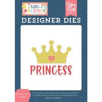 Echo Park - Little Dreamer Girl Collection - Designer Dies - Princess Crown
