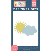 Echo Park - Little Dreamer Girl Collection - Designer Dies - Sunshine and Cloud