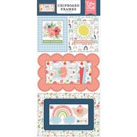 Echo Park - Little Dreamer Girl Collection - Chipboard Embellishments - Frames