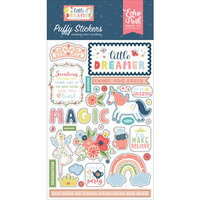 Echo Park - Little Dreamer Girl Collection - Puffy Stickers