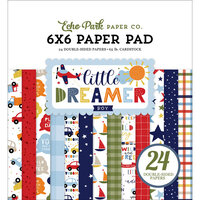 Echo Park - Little Dreamer Boy Collection - 6 x 6 Paper Pad
