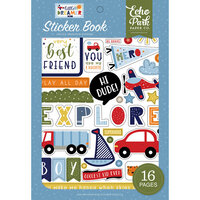 Echo Park - Little Dreamer Boy Collection - Cardstock Sticker Book