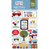 Echo Park - Little Dreamer Boy Collection - Puffy Stickers