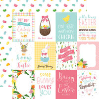 Echo Park - I Love Easter Collection - 12 x 12 Double Sided Paper - 3 x 4 Journaling Cards