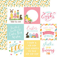 Echo Park - I Love Easter Collection - 12 x 12 Double Sided Paper - 4 x 4 Journaling Cards
