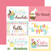 Echo Park - I Love Easter Collection - 12 x 12 Double Sided Paper - 4 x 6 Journaling Cards