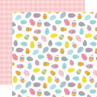 Echo Park - I Love Easter Collection - 12 x 12 Double Sided Paper - Eggscellent