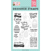 Echo Park - I Love Easter Collection - Clear Photopolymer Stamps - Funny Bunny