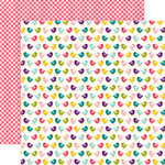 Echo Park - Little Girl Collection - 12 x 12 Double Sided Paper - Betty Bird