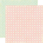 Echo Park - Life is Good Collection - 12 x 12 Double Sided Paper - Grandma's Quilt, CLEARANCE