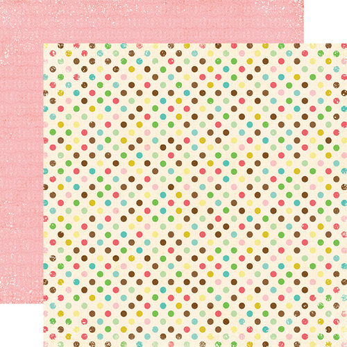 Echo Park - Life is Good Collection - 12 x 12 Double Sided Paper - Seeing Spots, CLEARANCE