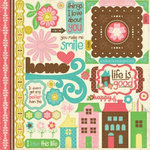 Echo Park - Life is Good Collection - 12 x 12 Cardstock Stickers - Elements, CLEARANCE