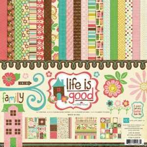 Echo Park - Life is Good Collection - Collection Kit, CLEARANCE