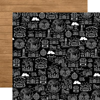 Echo Park - Let's Go Anywhere Collection - 12 x 12 Double Sided Paper - Take Me Away