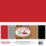 Echo Park - Let's Go Anywhere Collection - 12 x 12 Paper Pack - Solids