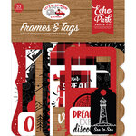 Echo Park - Let's Go Anywhere Collection - Ephemera - Frames and Tags