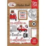 Echo Park - Let's Go Anywhere Collection - Cardstock Sticker Book