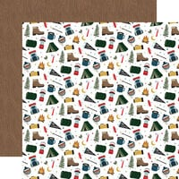 Echo Park - Let's Go Camping Collection - 12 x 12 Double Sided Paper - Adventure Awaits