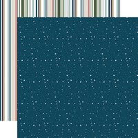 Echo Park - Let's Go Camping Collection - 12 x 12 Double Sided Paper - Night Sky