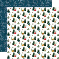 Echo Park - Let's Go Camping Collection - 12 x 12 Double Sided Paper - Life Is A Journey