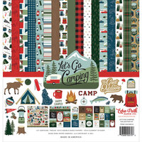 Echo Park - Let's Go Camping Collection - Collection Kit