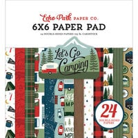Echo Park - Let's Go Camping Collection - 6 x 6 Paper Pad