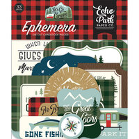 Echo Park - Let's Go Camping Collection - Ephemera