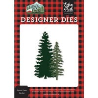 Echo Park - Let's Go Camping Collection - Designer Dies - Forest Trees