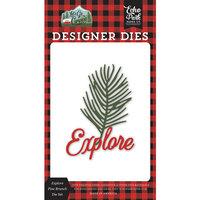 Echo Park - Let's Go Camping Collection - Designer Dies - Explore Pine Branch