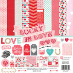 Echo Park - Lucky In Love Collection - 12 x 12 Collection Kit