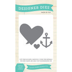 Echo Park - Lucky In Love Collection - Designer Dies - Anchor Heart