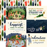 Echo Park - Lost in Neverland Collection - 12 x 12 Double Sided Paper - 6 x 4 Journaling Cards