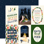 Echo Park - Lost in Neverland Collection - 12 x 12 Double Sided Paper - 4 x 6 Journaling Cards