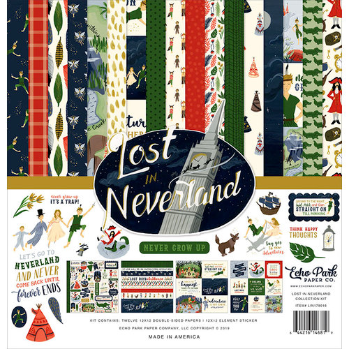 Echo Park - Lost in Neverland Collection - 12 x 12 Collection Kit