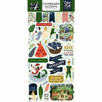 Echo Park - Lost in Neverland Collection - Chipboard Stickers - Accents