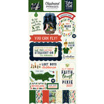 Echo Park - Lost in Neverland Collection - Chipboard Stickers - Phrases