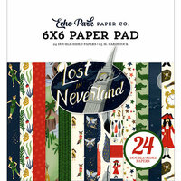 Echo Park - Lost in Neverland Collection - 6 x 6 Paper Pad